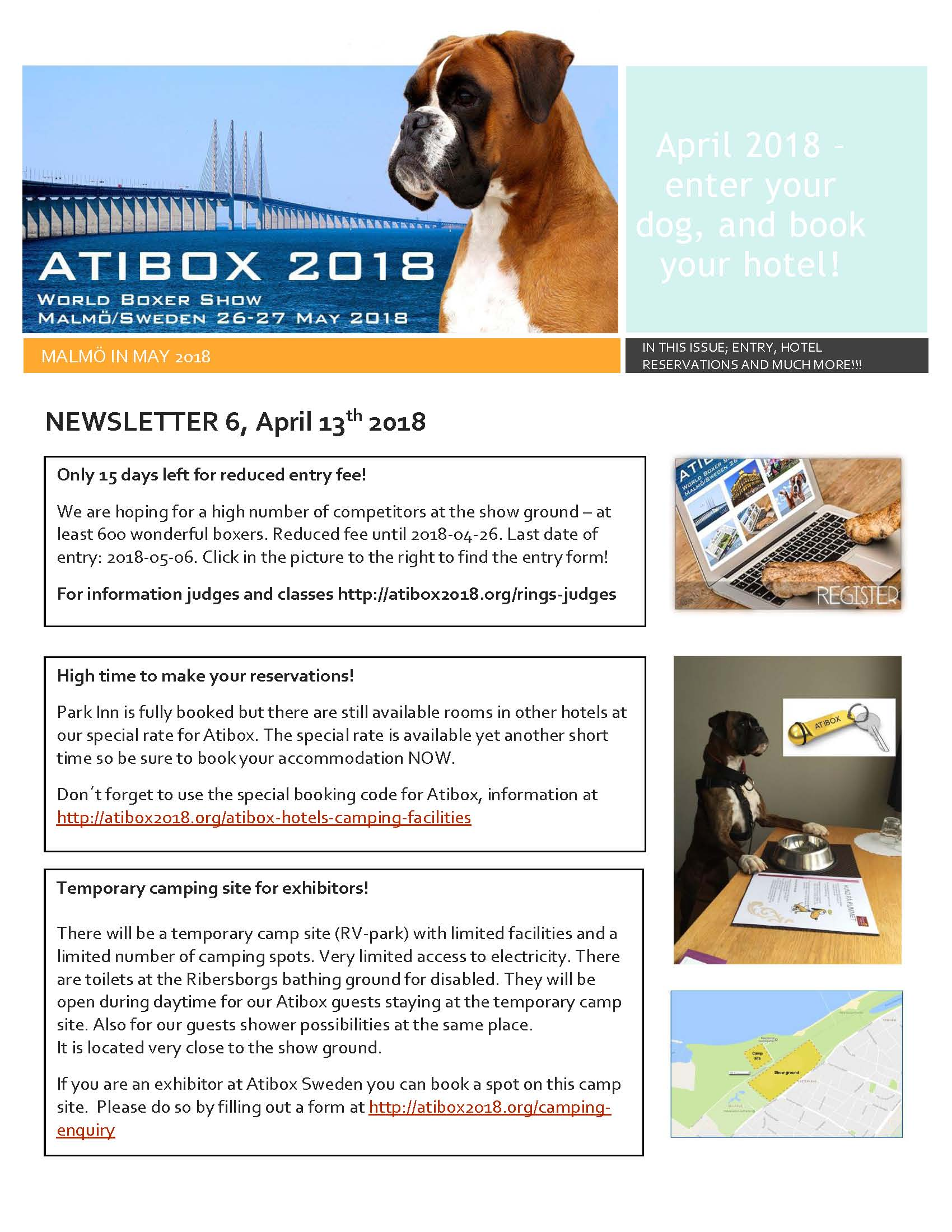 Newsletter 6 april 2018 Page 1